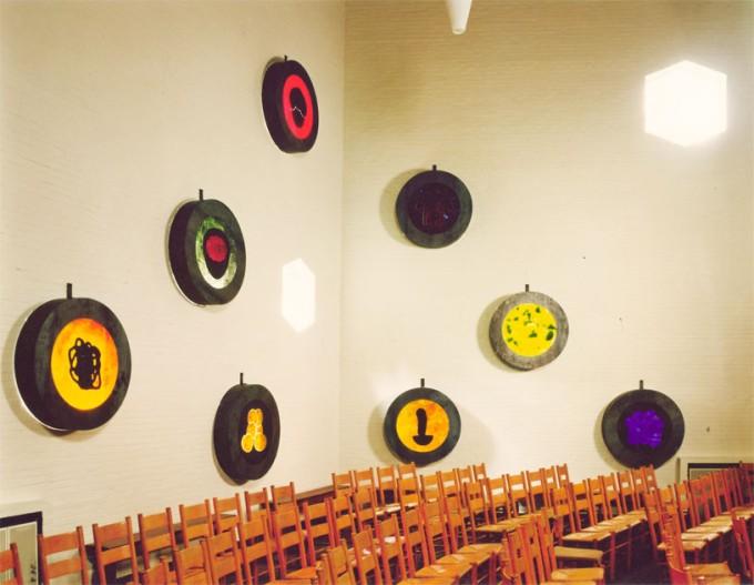 RAAMVERTELLING REMONSTRANTSE KERK BUSSUM 1994